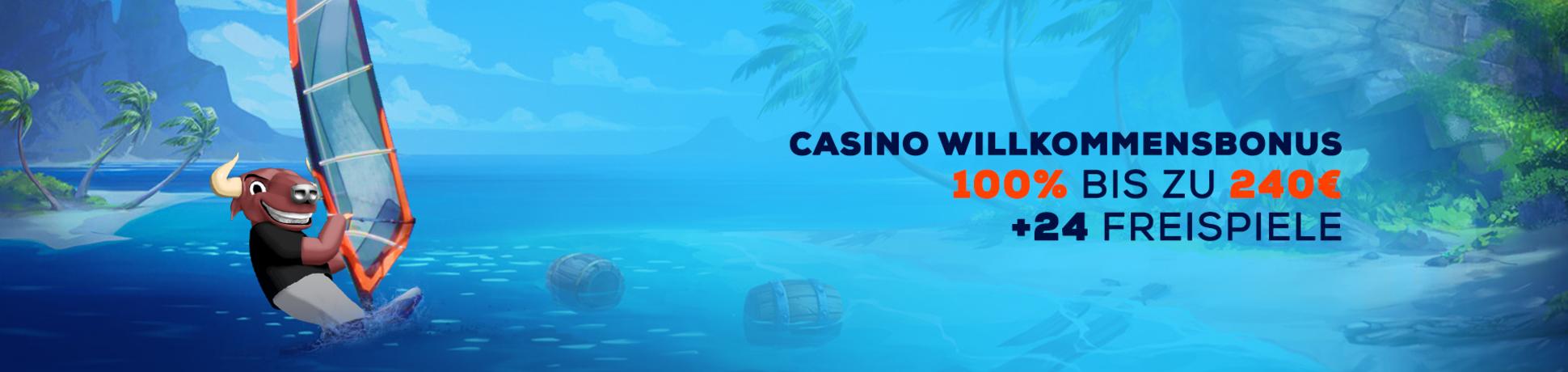 Hast Du schon vom Casino Willkommensbonus gehört?!