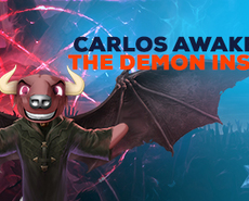 CARLOS GOES TO THE DARK SIDE