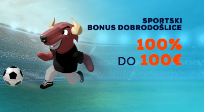 Sport Bonus Dobrodošlice