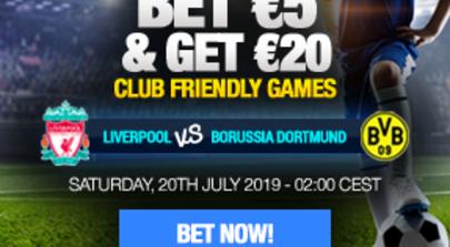 Club Friendlies: Liverpool vs B. Dortmund