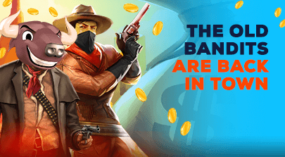The old bandits are back in town