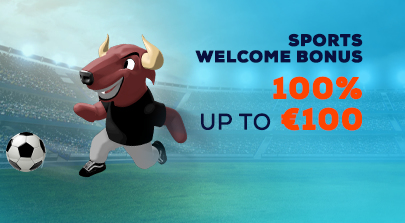 100% Sports Welcome Bonus!