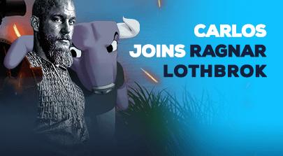 Caros joins Ragnar Lothbrok