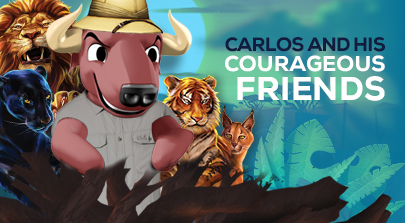 Carlos and the courageous wild cats