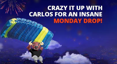 Crazy Carlos is crashing down!