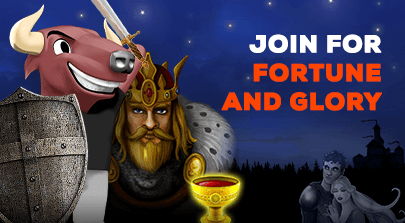 Join for fortune and glory