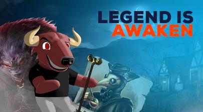 Legend is awaken!