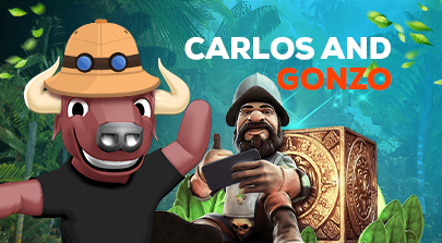 Carlos and Gonzo