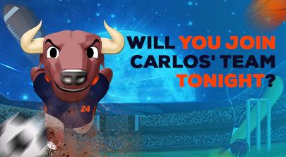 Carlos doesn't stop!