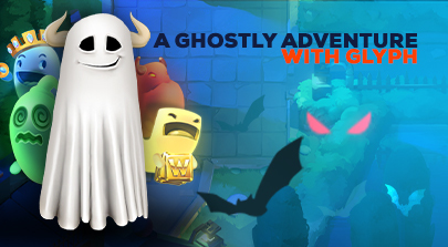 A Ghostly adventure with Glyph.