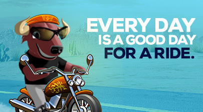 Every day is a good day for a ride.
